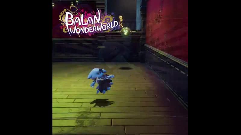 Balan Wonderworld Merry Ghost gameplay バランワンダーワールド メリーゴーストゲームプレイ