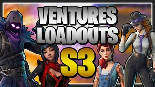Awesome Loadouts for Ventures Season 3 in Fortnite Save the World!