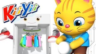 Getting Dressed Song | UK Version | Nursery Rhymes | By KiiYii! | ABCs and 123s