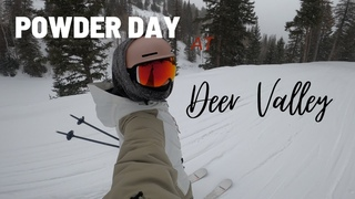 DEER VALLEY at its best conditions | Skiing at DEER VALLEY, UTAH on powder day