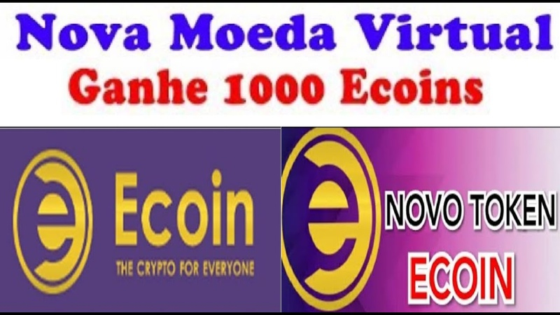 AirDrop Ecoin | Fácil de ganhar 1000 Moedas Ecoins | 1000 por indicado | Renda Extra