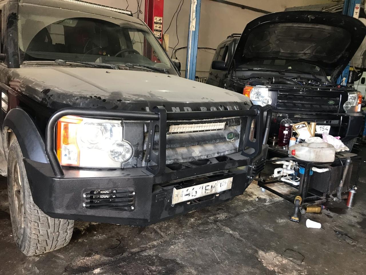 Land Rover Discovery 3. Установили двигатель 3uz-fe на Discovery 3