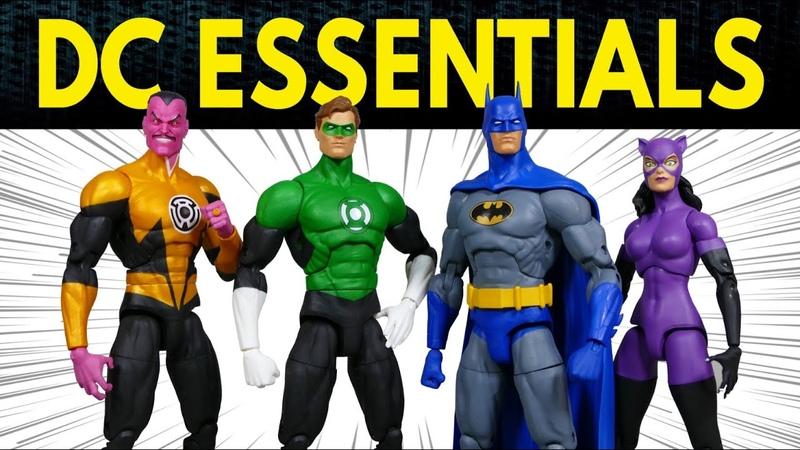 DC Essentials Green Lantern Sinestro Knightfall Batman Catwoman