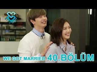 [Türkçe Altyazılı] We Got Married - Sungjae & Joy 40.Bölüm